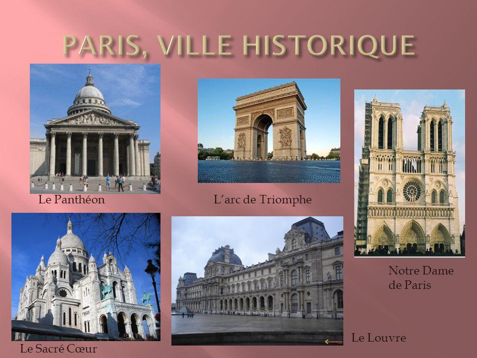 PARIS, VILLE HISTORIQUE