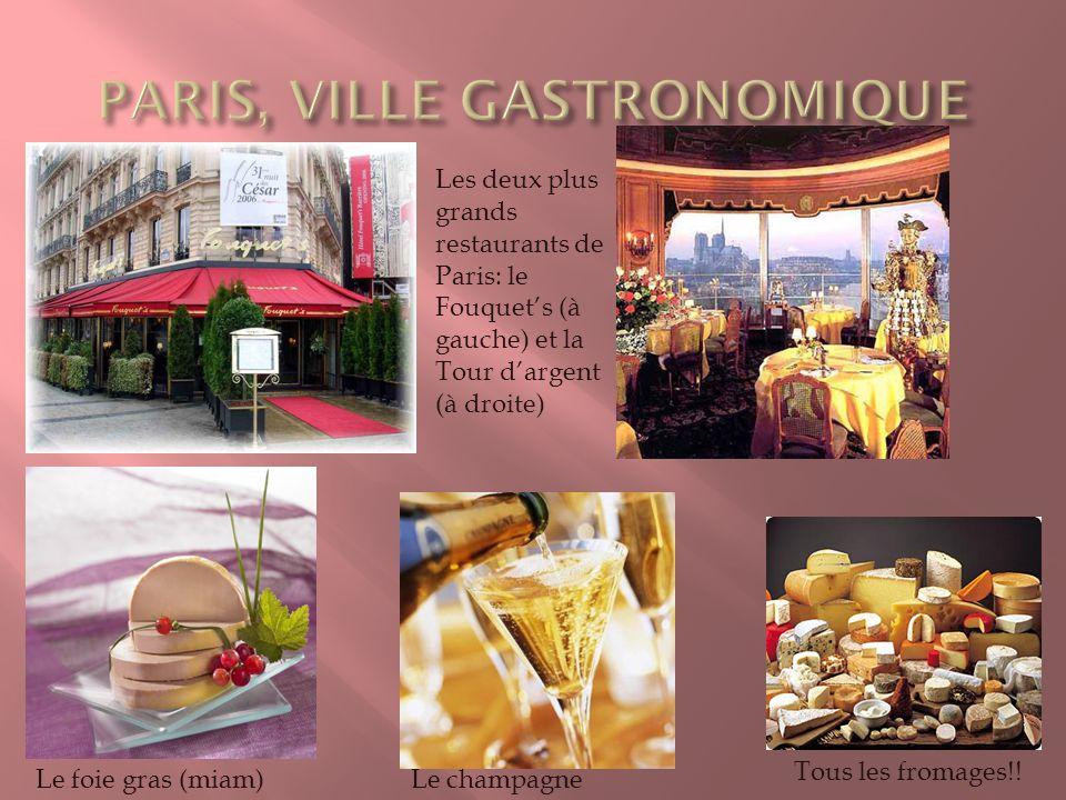 PARIS, VILLE GASTRONOMIQUE