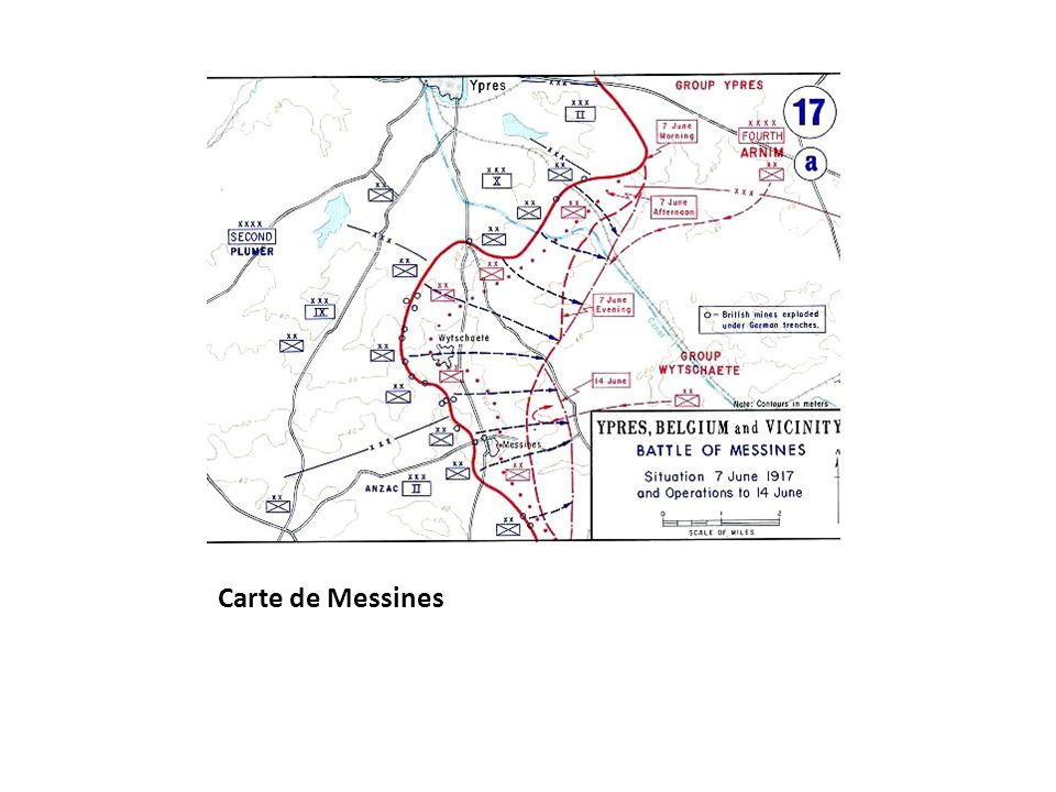Carte de Messines