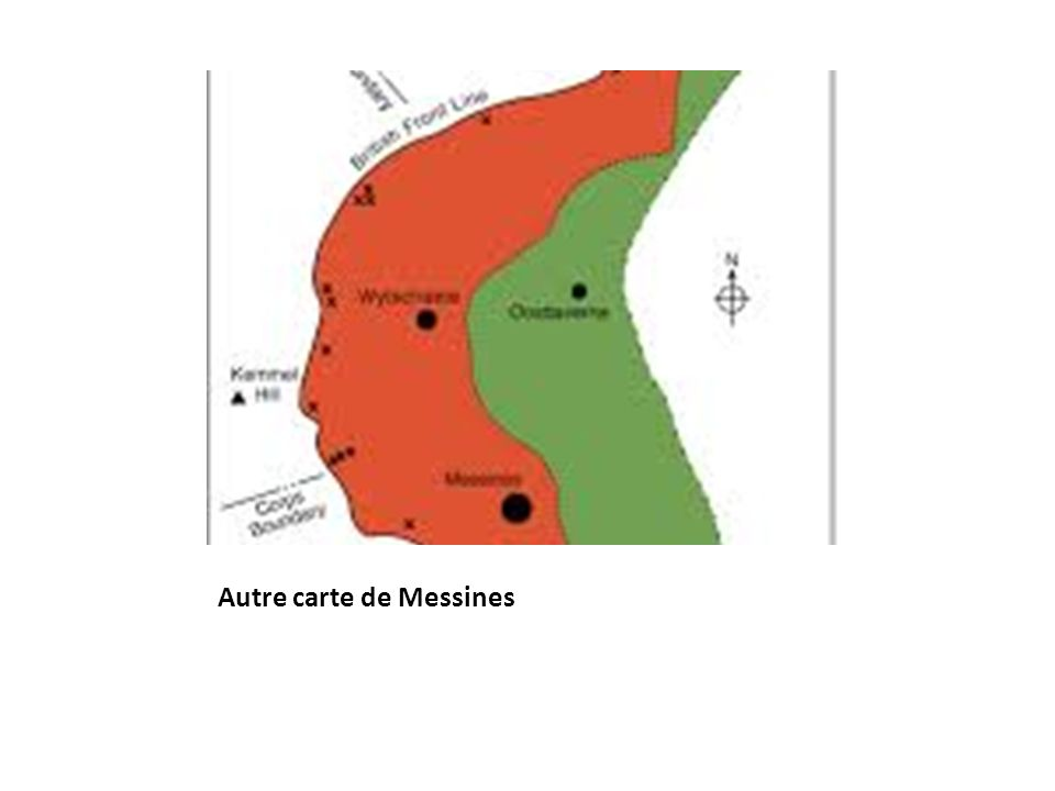 Autre carte de Messines