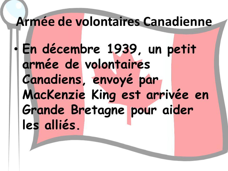 Armée de volontaires Canadienne