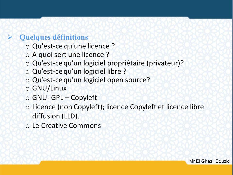 Qu est-ce qu une licence A quoi sert une licence