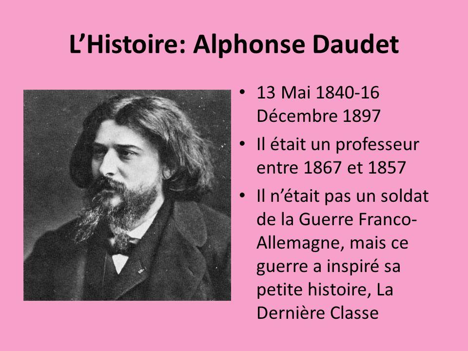L'Histoire: Alphonse Daudet