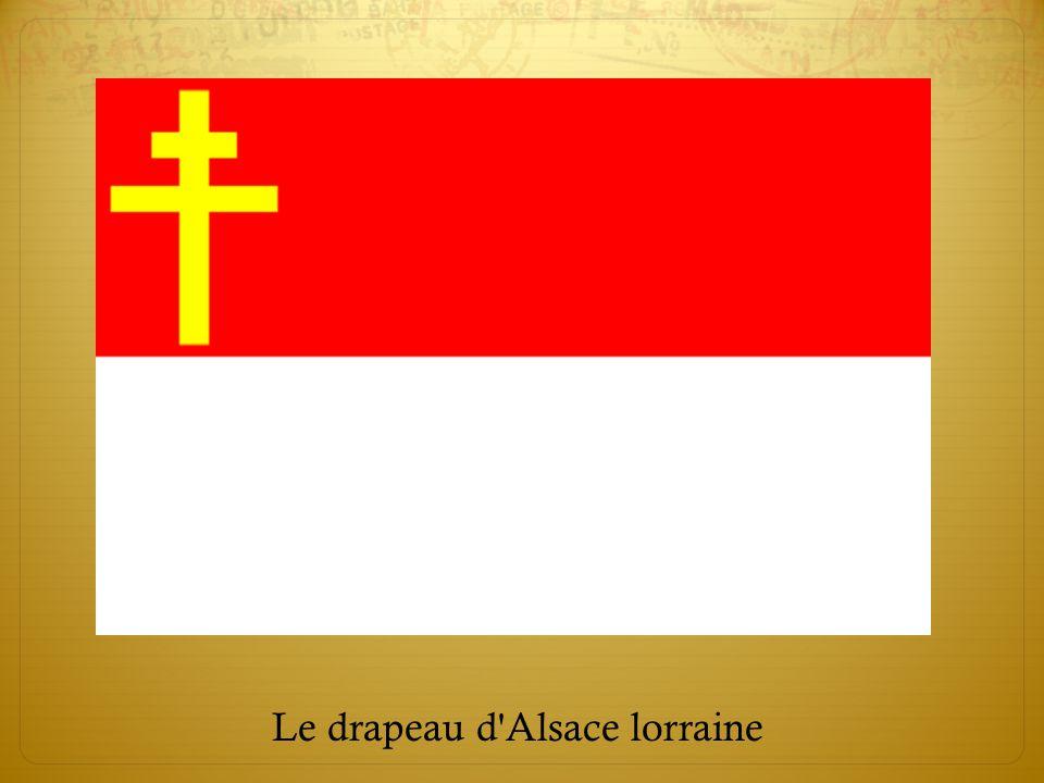 Le drapeau d Alsace lorraine