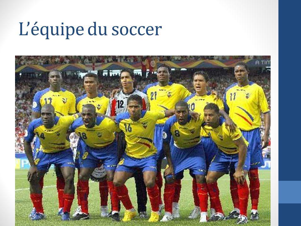 L'équipe du soccer