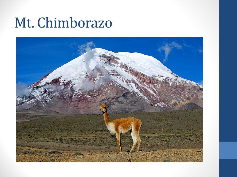 Mt. Chimborazo