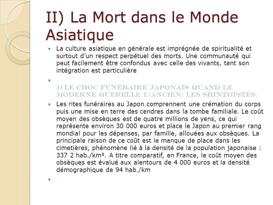 II) La Mort dans le Monde Asiatique