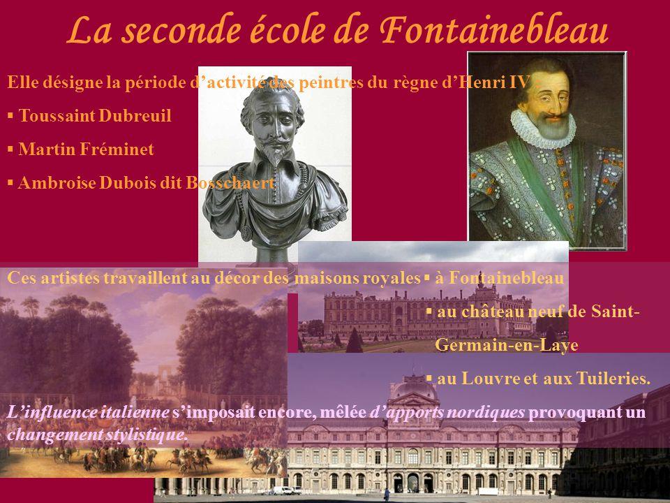 La seconde école de Fontainebleau