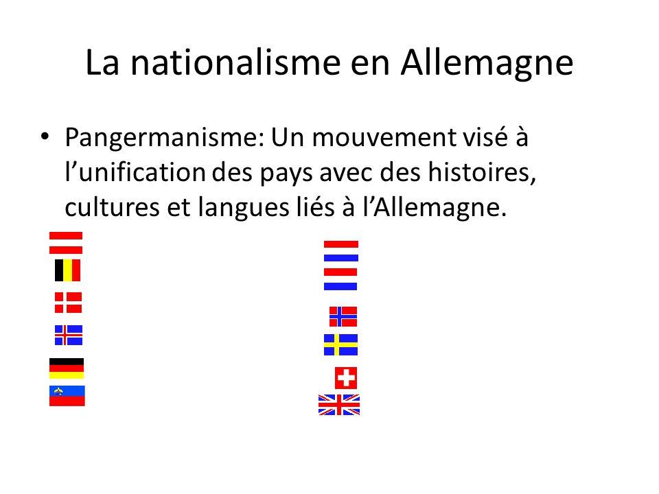 La nationalisme en Allemagne
