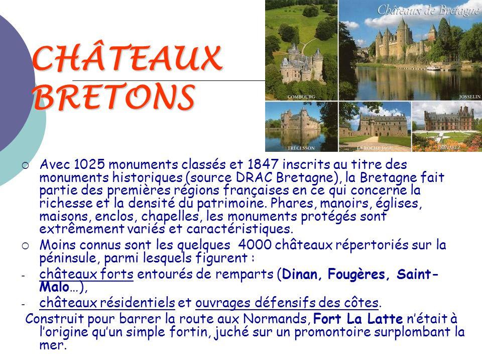 CHÂTEAUX BRETONS