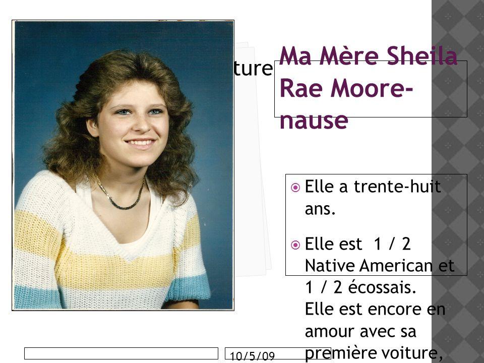 Ma Mère Sheila Rae Moore-nause
