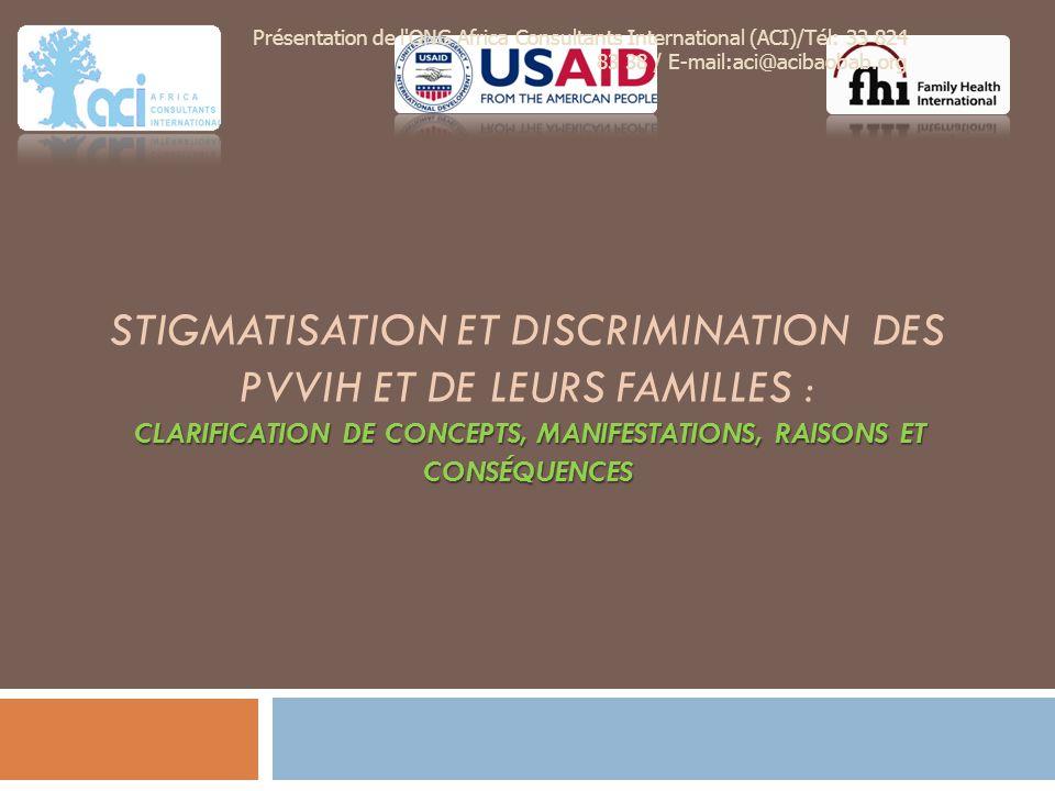 Présentation de l ONG Africa Consultants International (ACI)/Tél: 33 824 83 38 / E-mail:aci@acibaobab.org