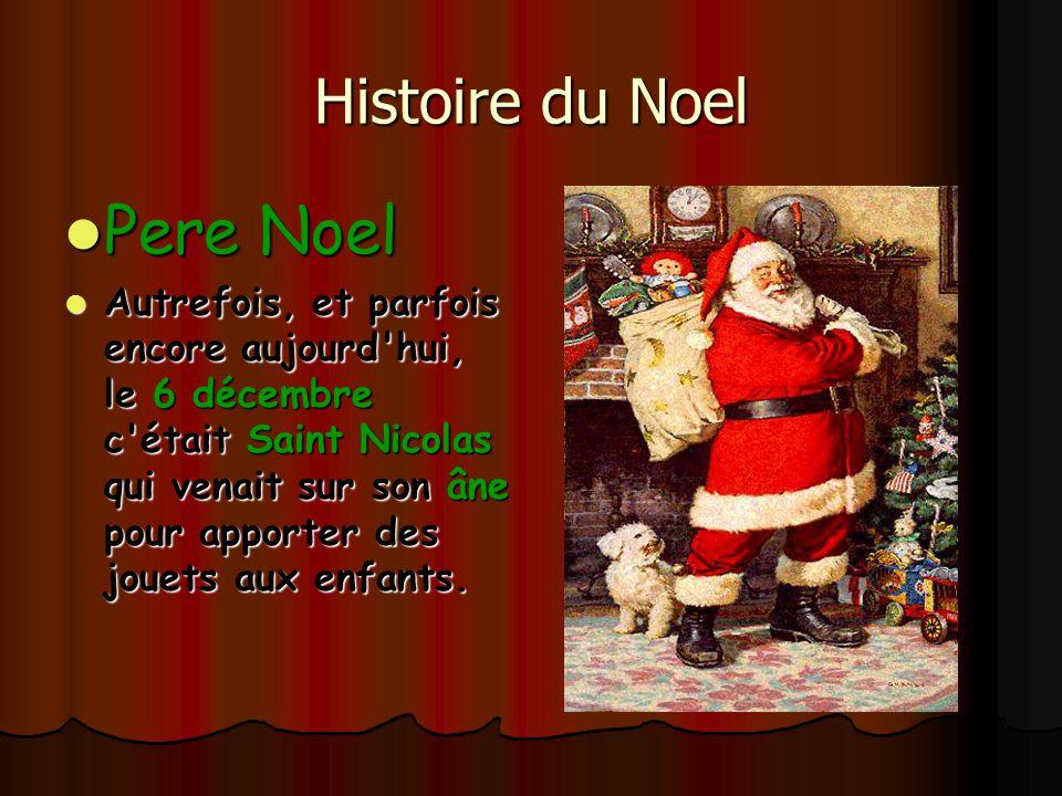 Pere Noel Histoire du Noel
