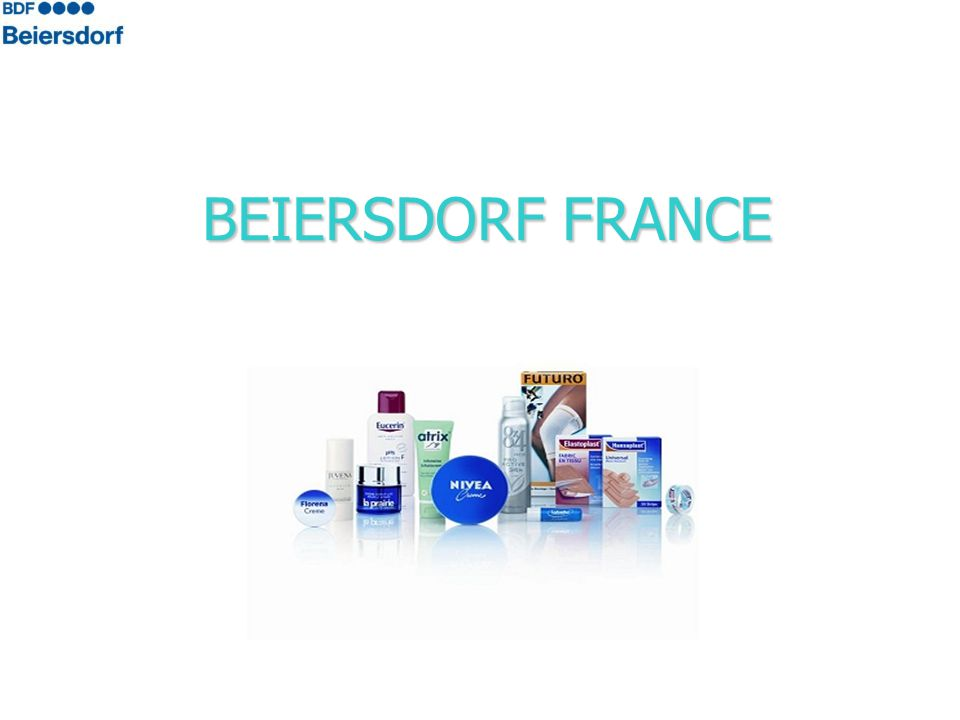 BEIERSDORF FRANCE