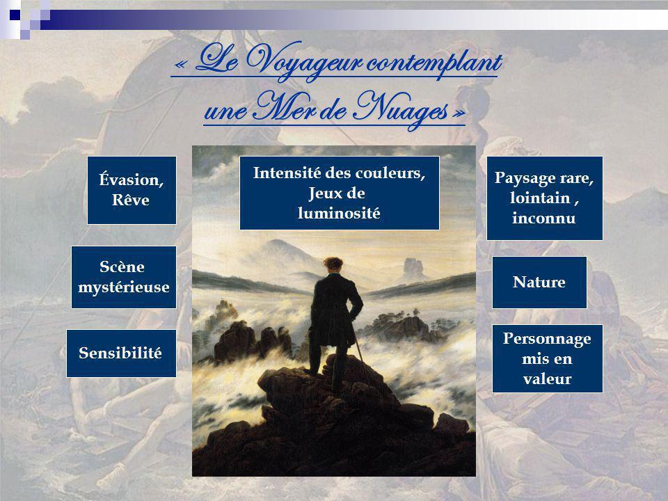 « Le Voyageur contemplant une Mer de Nuages »