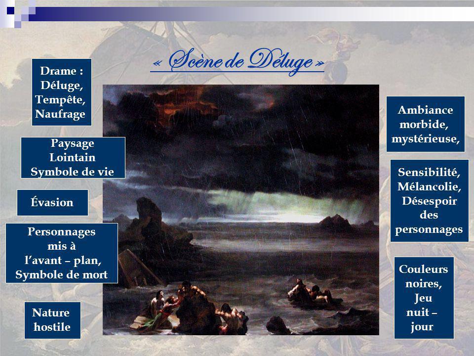 « Scène de Déluge » Drame : Déluge, Tempête, Naufrage Ambiance