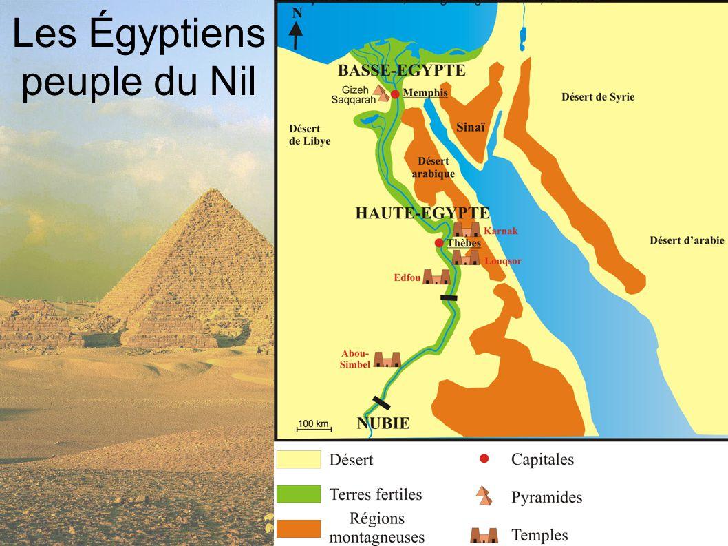 Les Égyptiens peuple du Nil