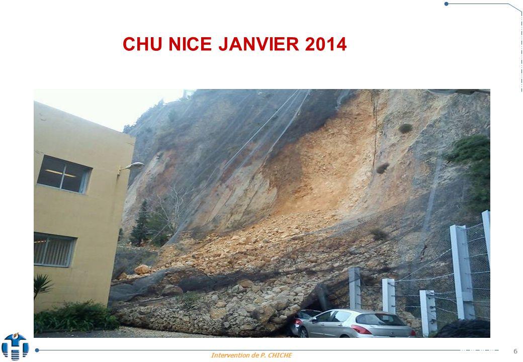 CHU NICE JANVIER 2014