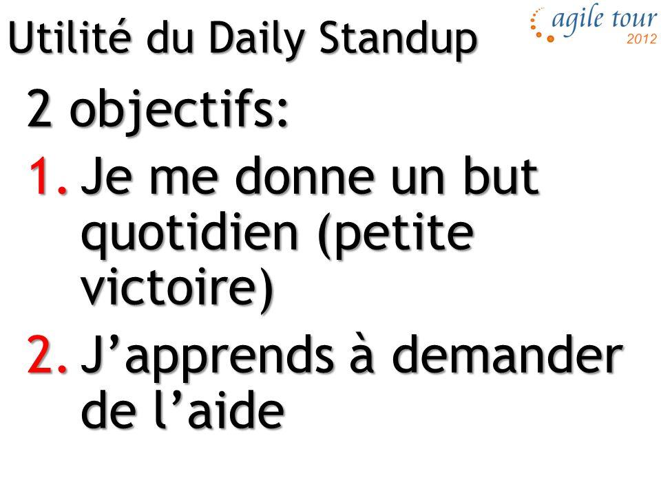 Utilité du Daily Standup