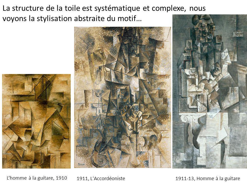 La structure de la toile est systématique et complexe, nous voyons la stylisation abstraite du motif…