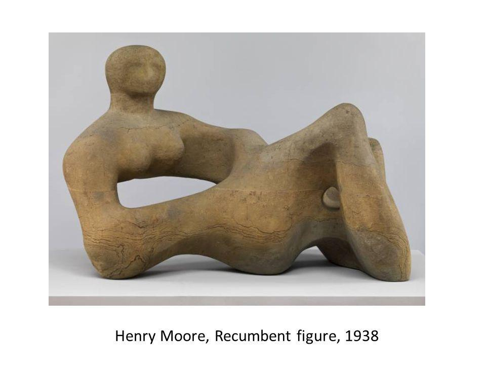 Henry Moore, Recumbent figure, 1938