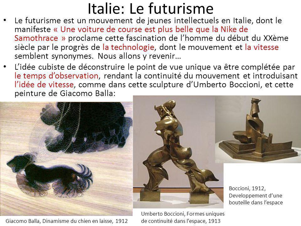 Italie: Le futurisme