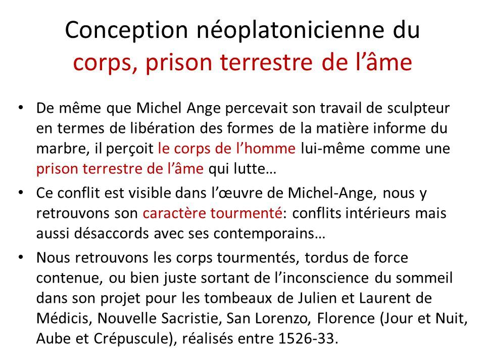 Conception néoplatonicienne du corps, prison terrestre de l'âme