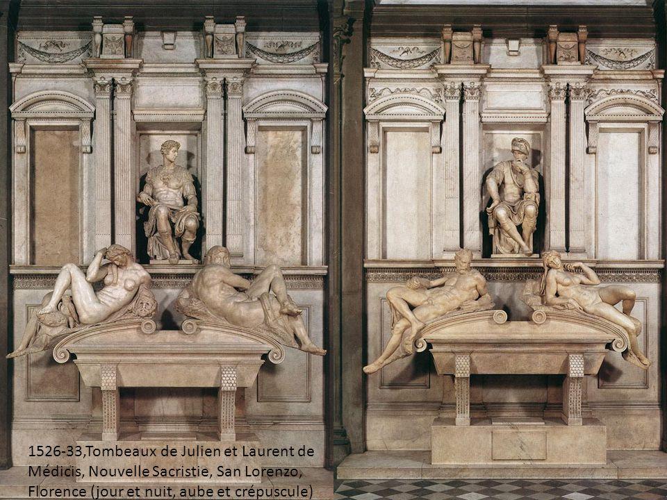 1526-33, Tomb of the Medicis, sagrestia nouova, san lorenzo, firenca