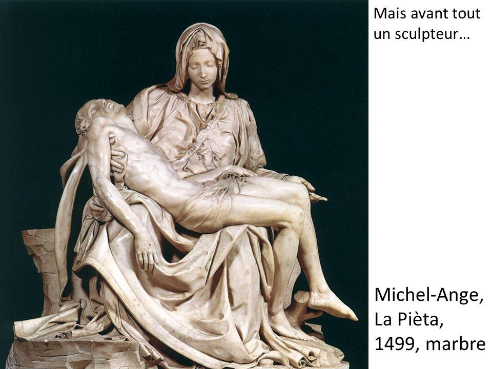 Michel-Ange, La Pièta, 1499, marbre