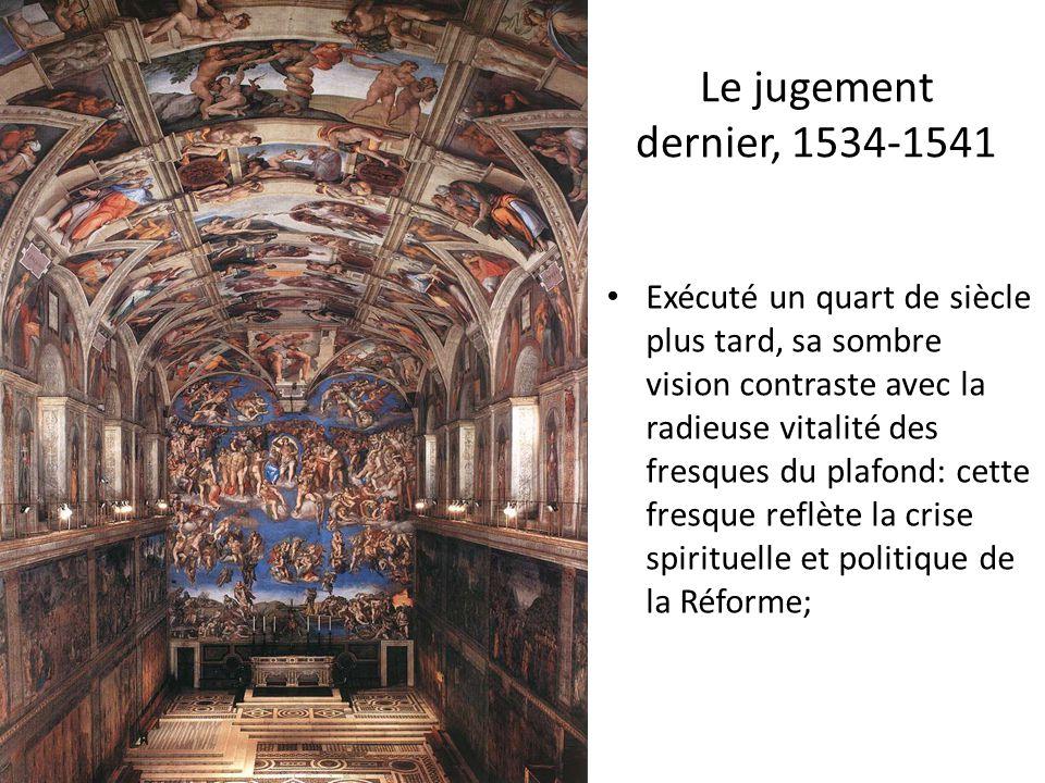 Le jugement dernier, 1534-1541