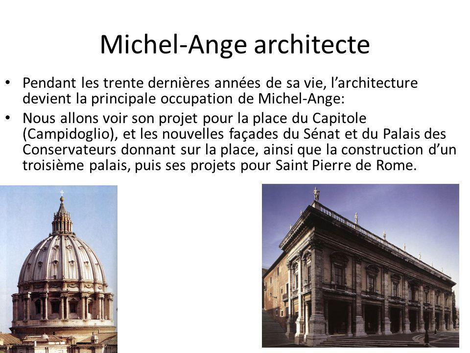 Michel-Ange architecte
