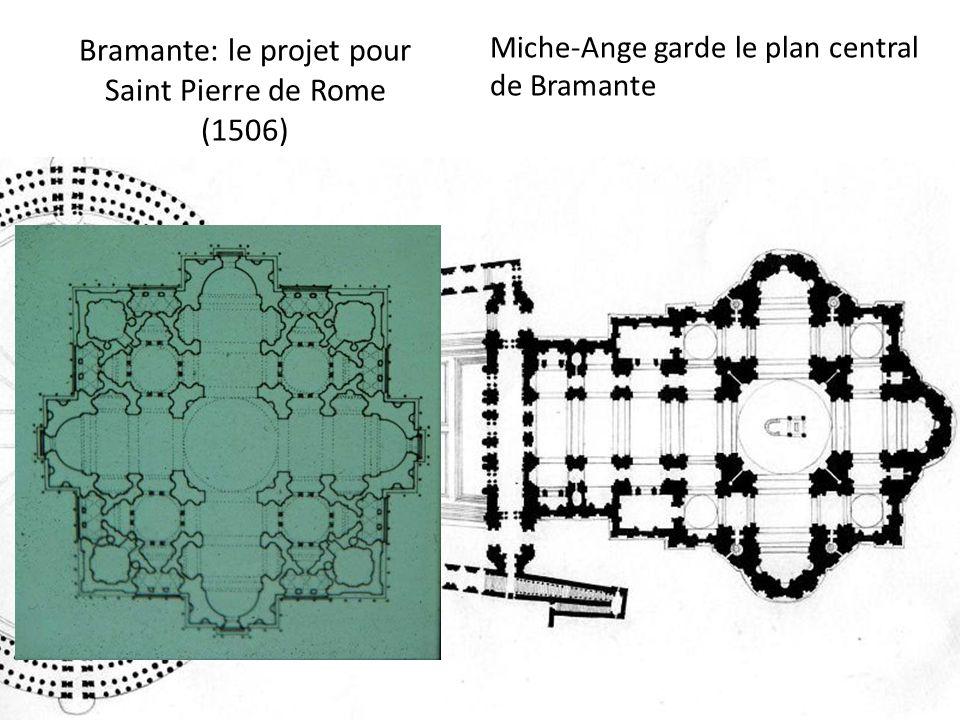 Bramante: le projet pour Saint Pierre de Rome (1506)