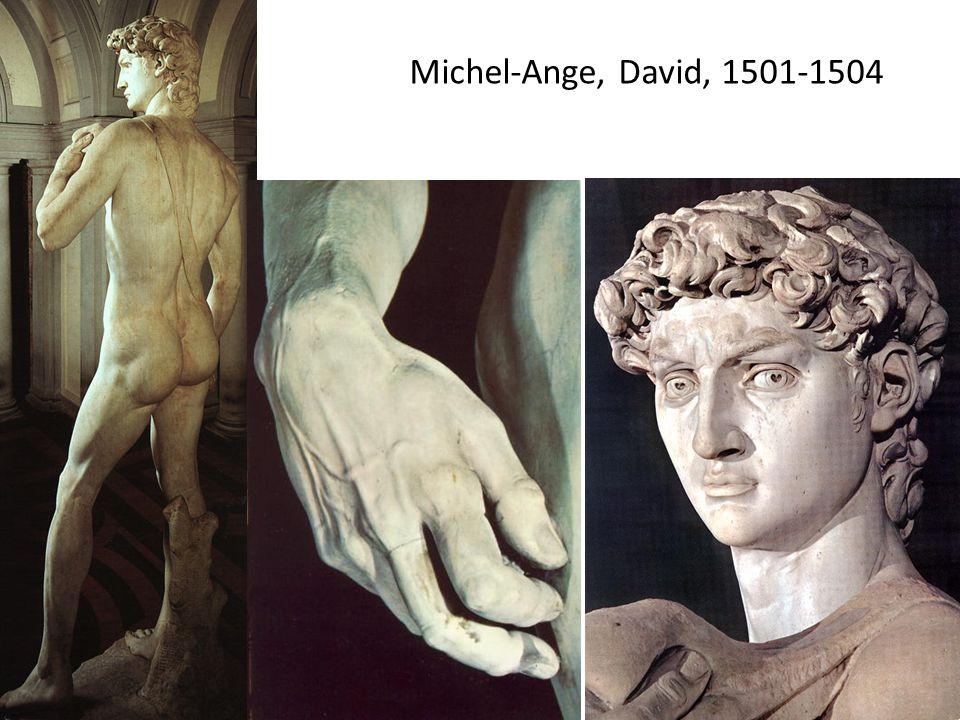 Michel-Ange, David, 1501-1504