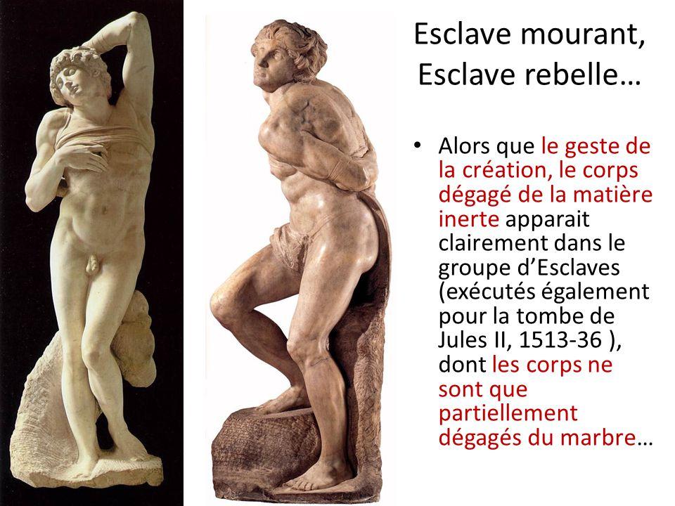 Esclave mourant, Esclave rebelle…