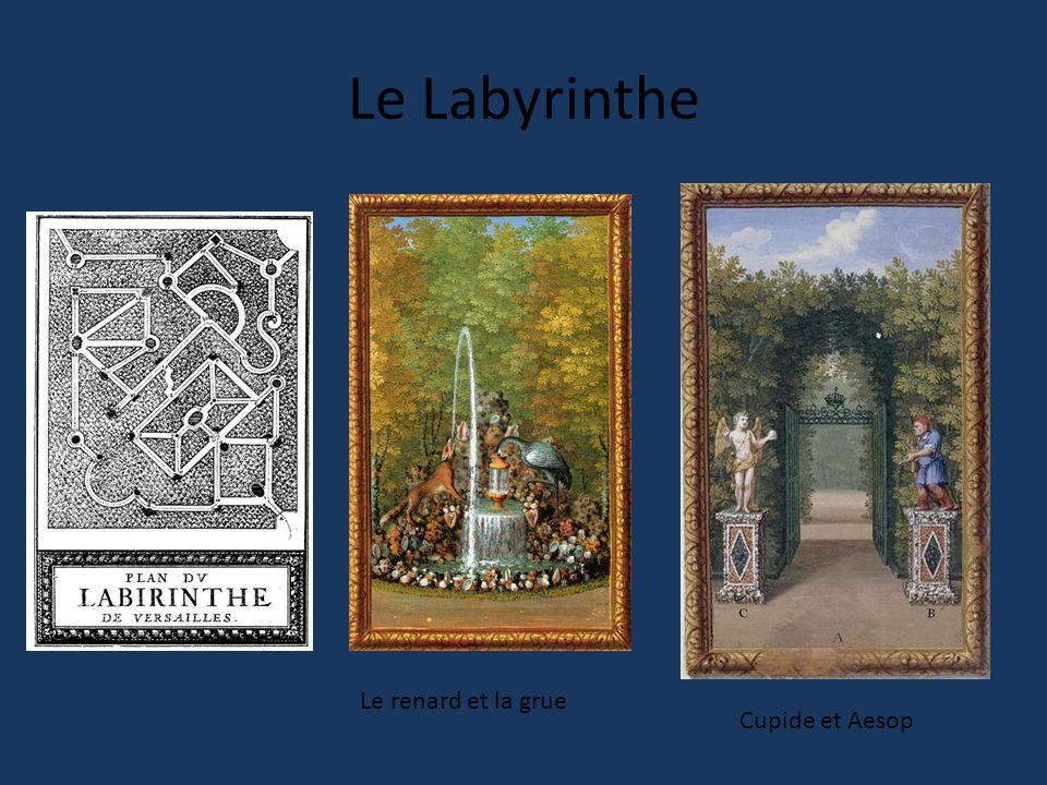 Le Labyrinthe Le renard et la grue Cupide et Aesop