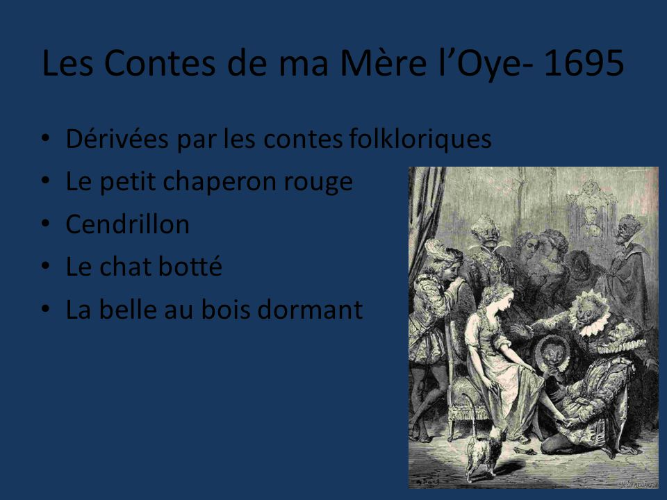 Les Contes de ma Mère l'Oye- 1695