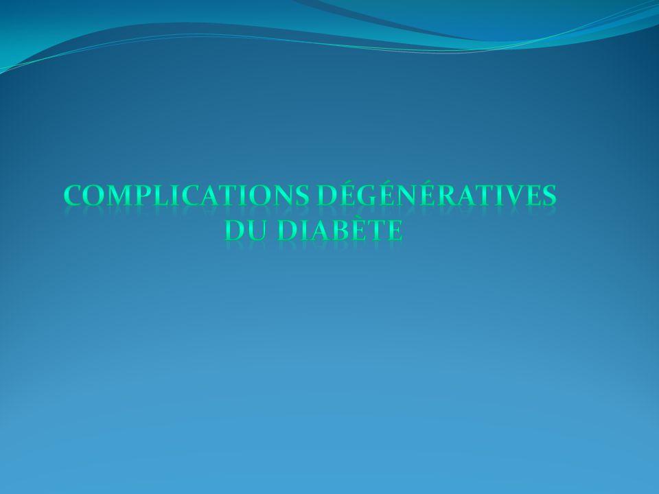 Complications dégénératives