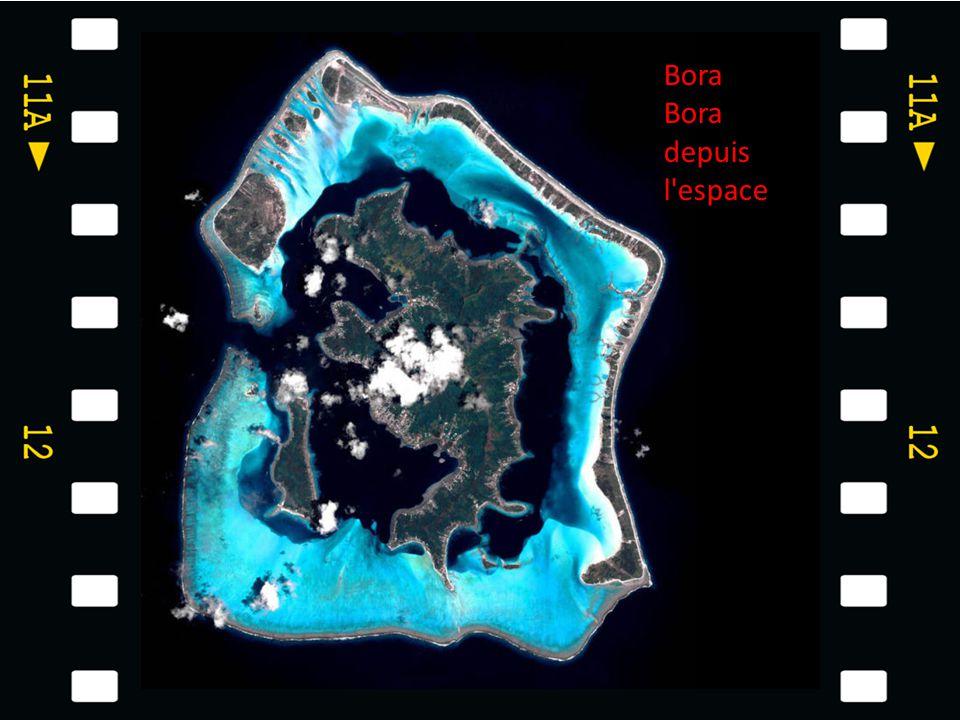 Bora Bora depuis l espace