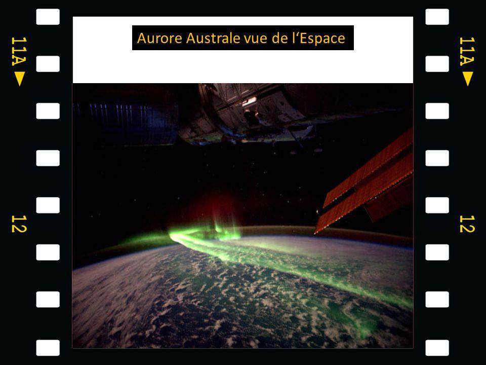 Aurore Australe vue de l'Espace