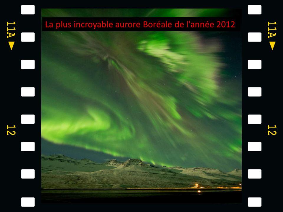 La plus incroyable aurore Boréale de l année 2012