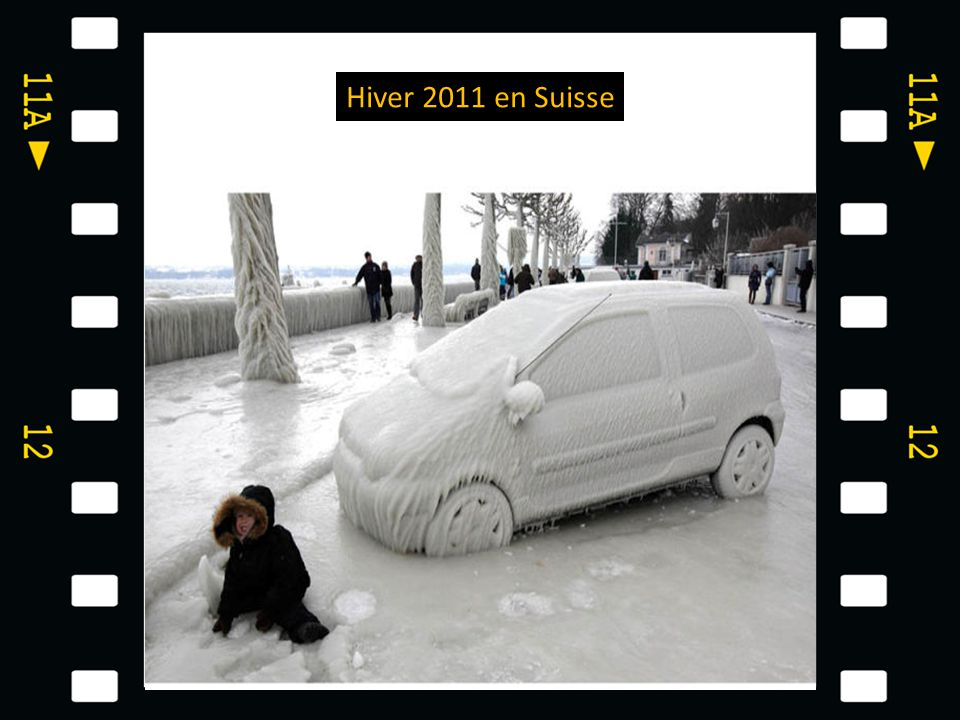 Hiver 2011 en Suisse