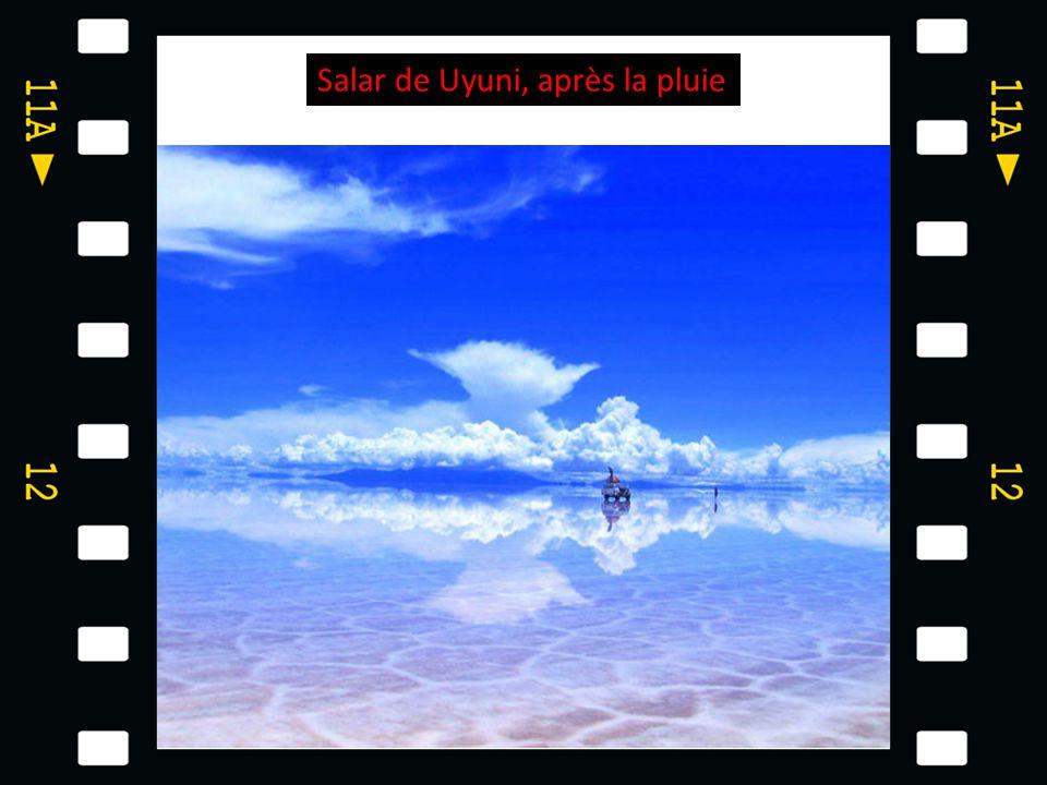 Salar de Uyuni, après la pluie