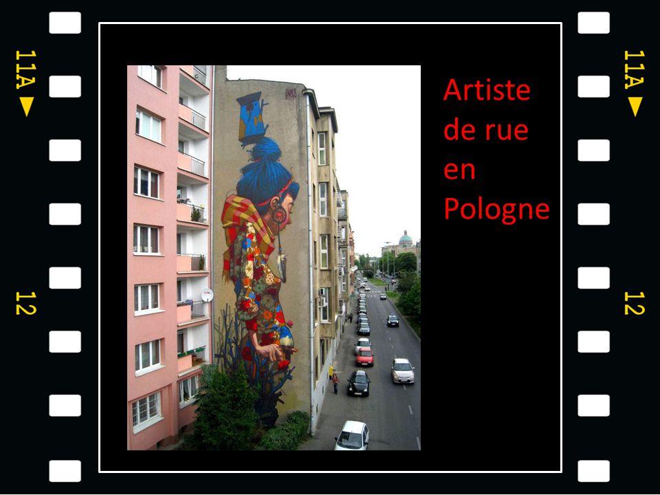 Artiste de rue en Pologne