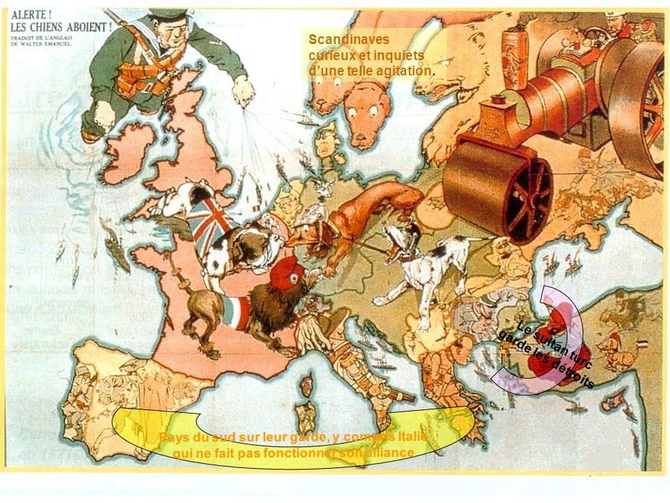 Pays du sud sur leur garde, y compris Italie
