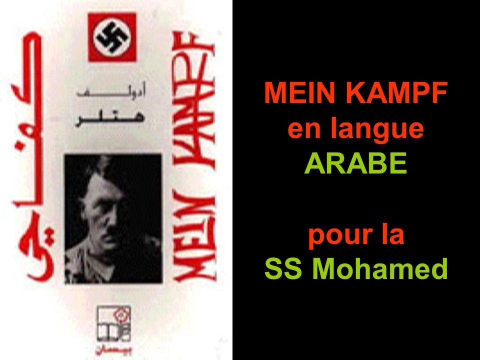 MEIN KAMPF en langue ARABE pour la SS Mohamed