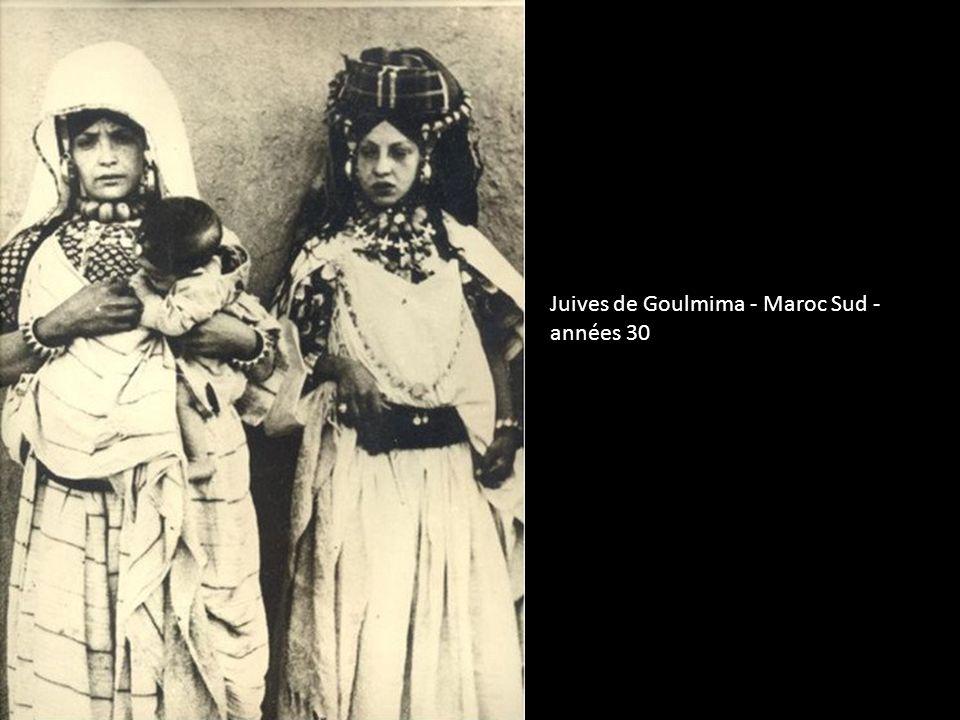Juives de Goulmima - Maroc Sud - années 30