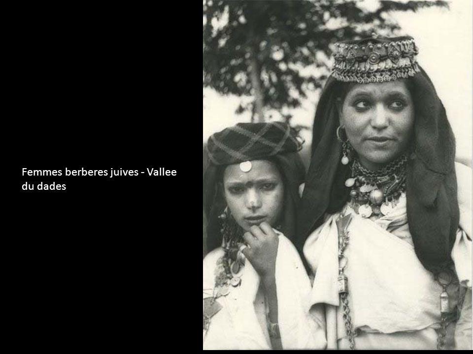 Femmes berberes juives - Vallee du dades