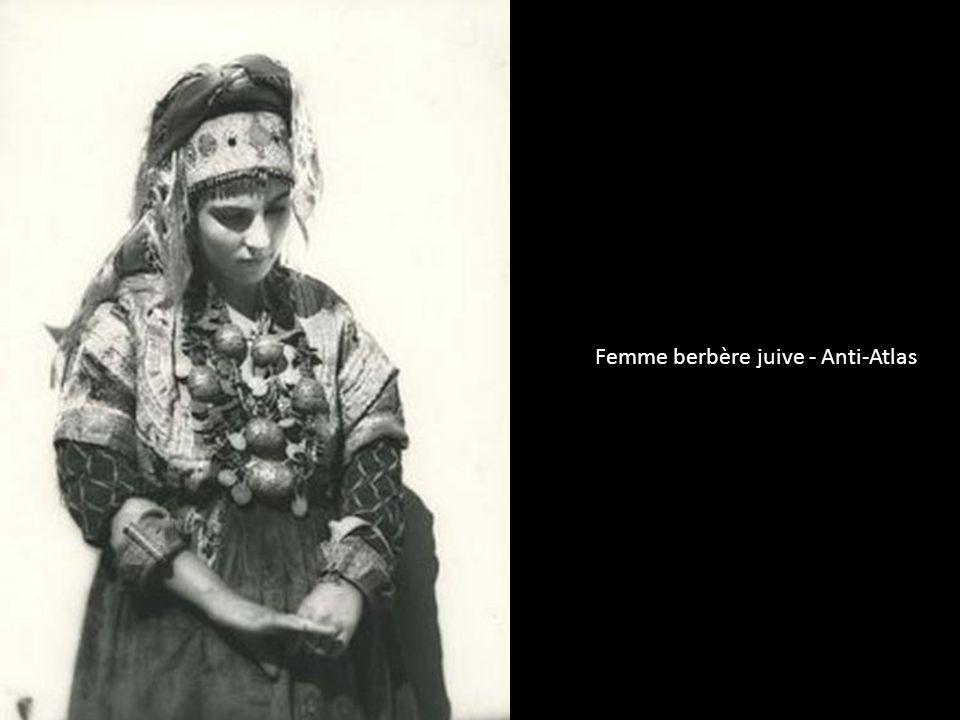 Femme berbère juive - Anti-Atlas