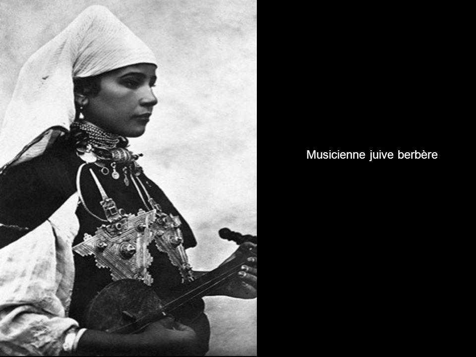 Musicienne juive berbère