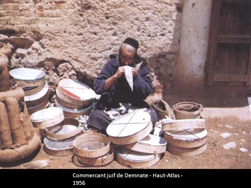 Commercant juif de Demnate - Haut-Atlas - 1956
